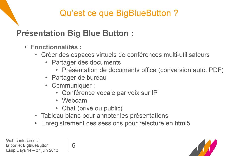 multi-utilisateurs Partager des documents Présentation de documents office (conversion auto.