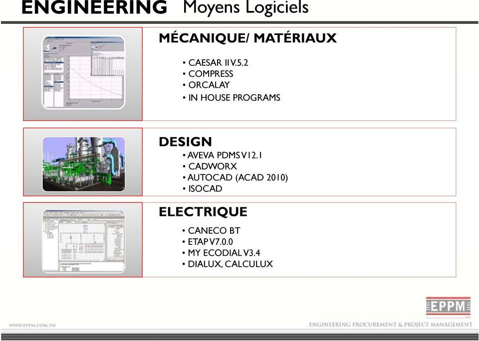 2 COMPRESS ORCALAY IN HOUSE PROGRAMS DESIGN AVEVA PDMS