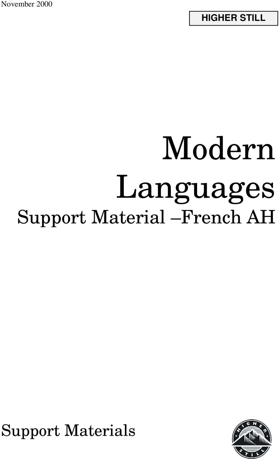 Languages Support