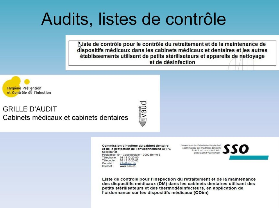 AUDIT Cabinets
