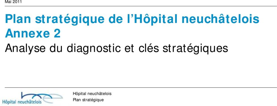 2 Analyse du diagnostic