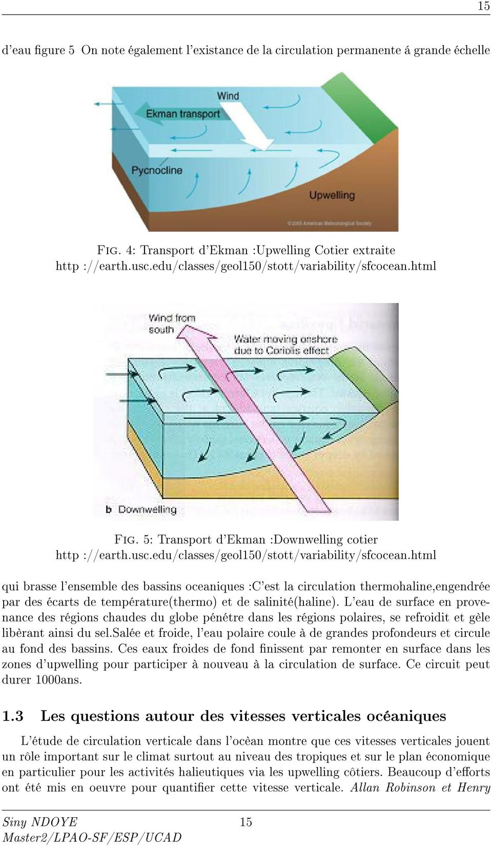 html Fig. 5: Transport d'ekman :Downwelling cotier http ://earth.usc.