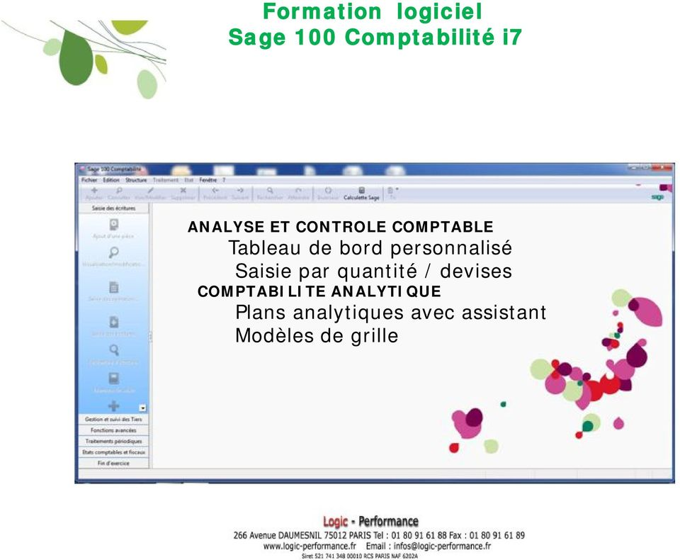 devises COMPTABILITE ANALYTIQUE Plans