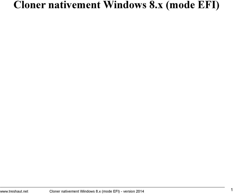 net x (mode EFI) - version