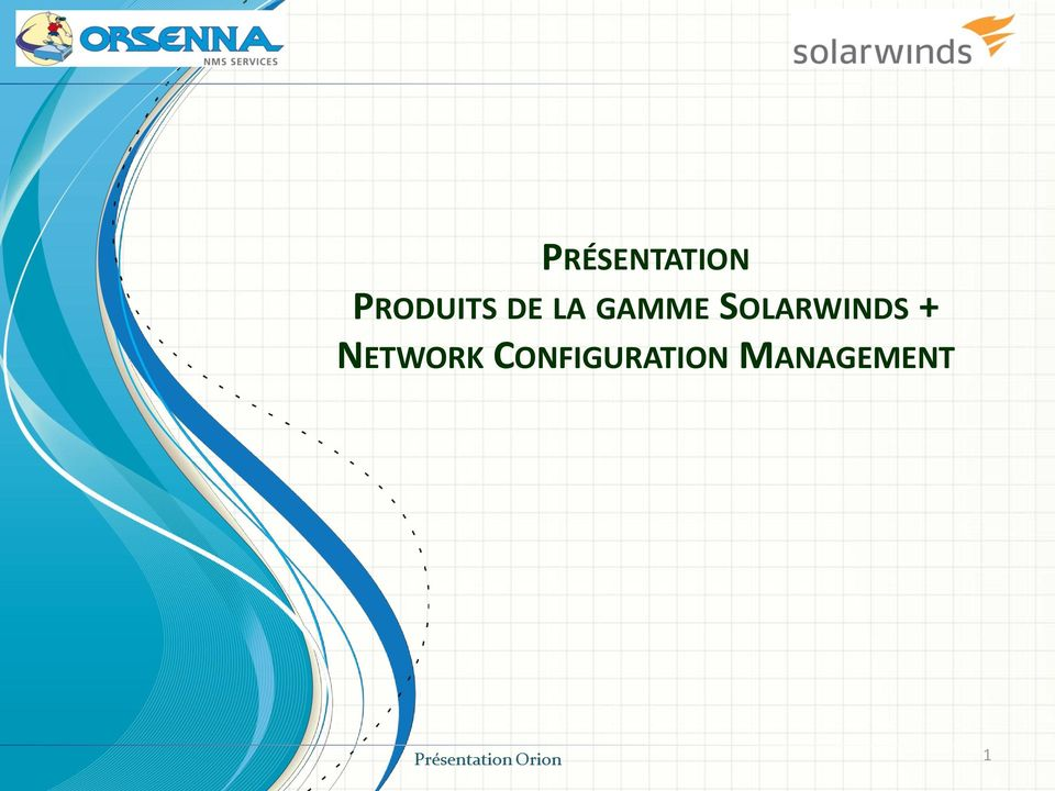 SOLARWINDS + NETWORK