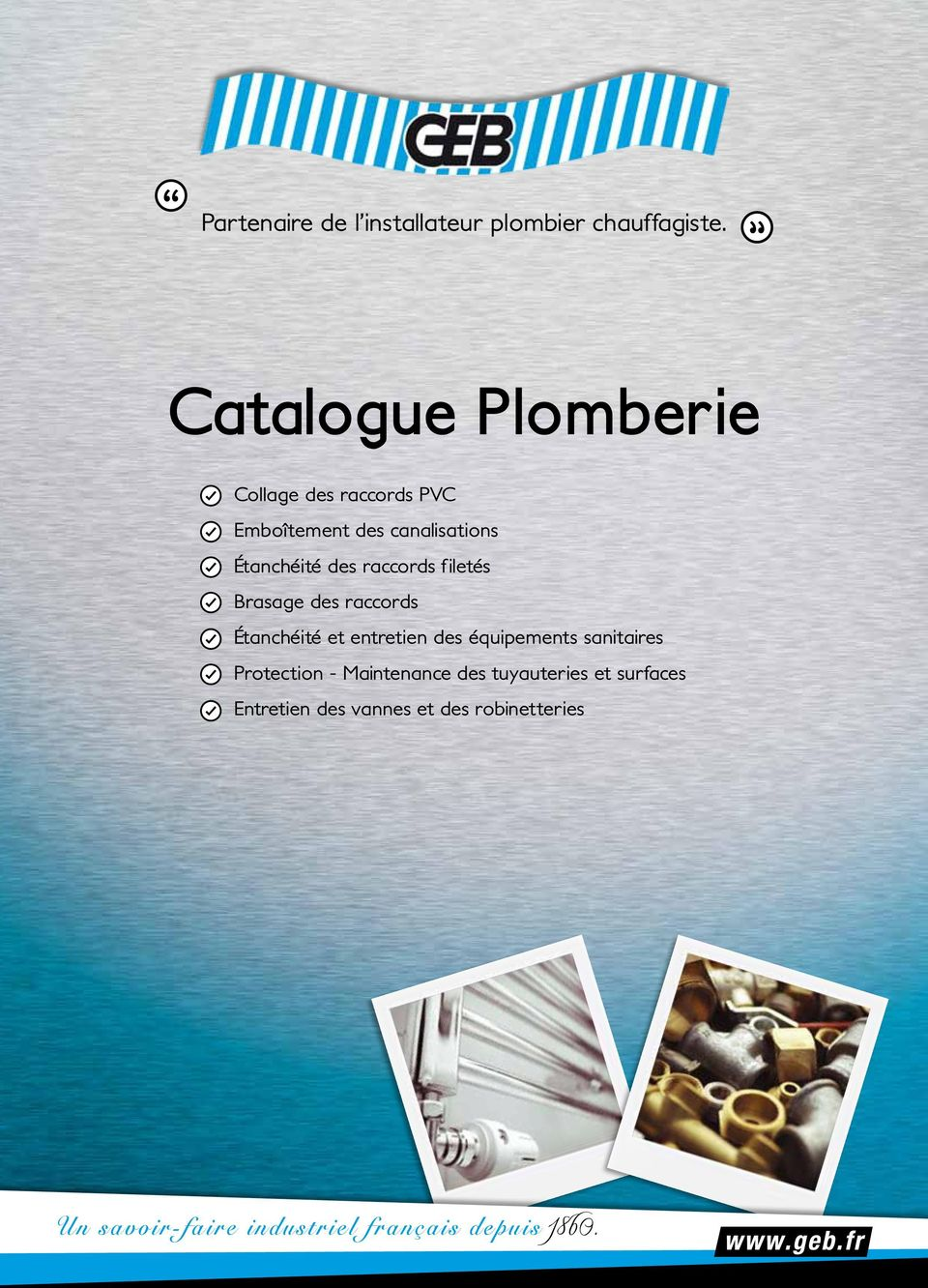 partenaire de l installateur plombier chauffagiste catalogue plomberie pdf. Black Bedroom Furniture Sets. Home Design Ideas