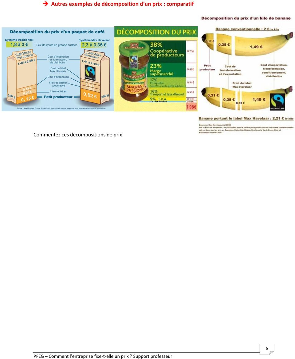 : comparatif Commentez