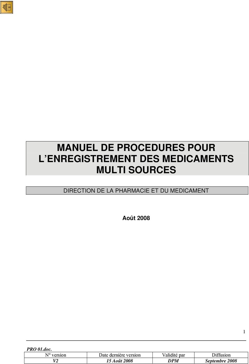 MULTI SOURCES DIRECTION DE LA