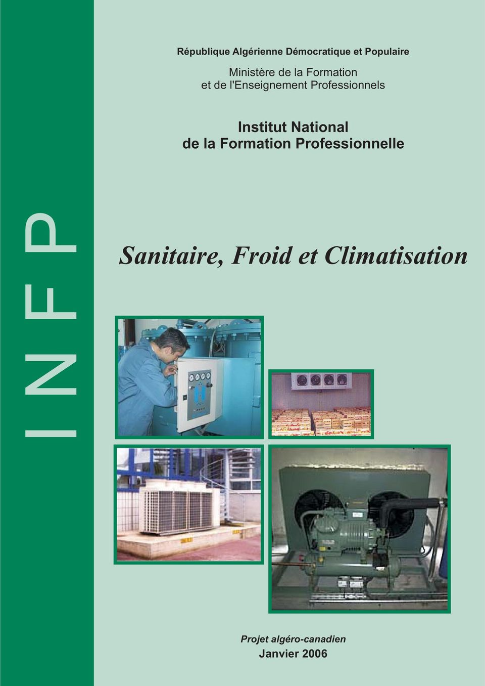 Institut National de la Formation Professionnelle INFP