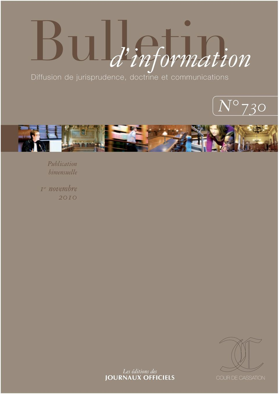 communications N 730 Publication