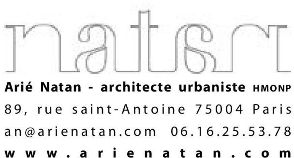 Paris an@arienatan.com 06.16.25.53.