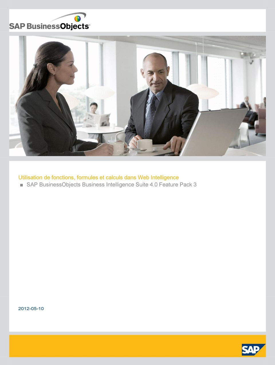Intelligence SAP BusinessObjects
