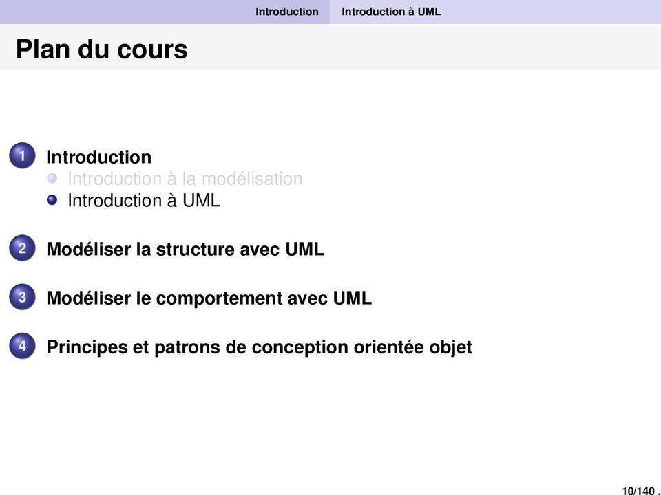 Introduction à la modélisation Introduction à UML 2