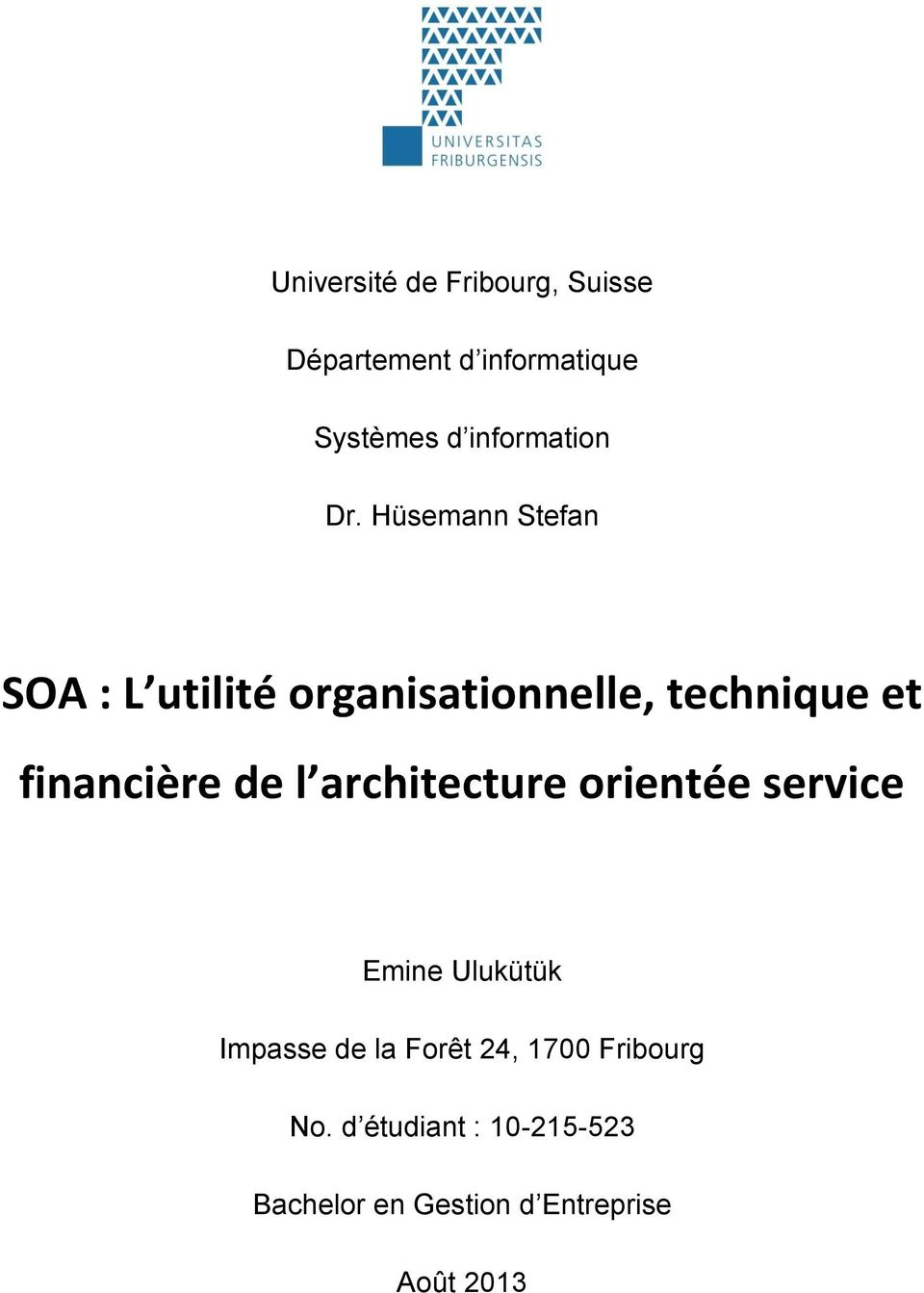 Soa l utilit organisationnelle technique et financi re for Architecture orientee service