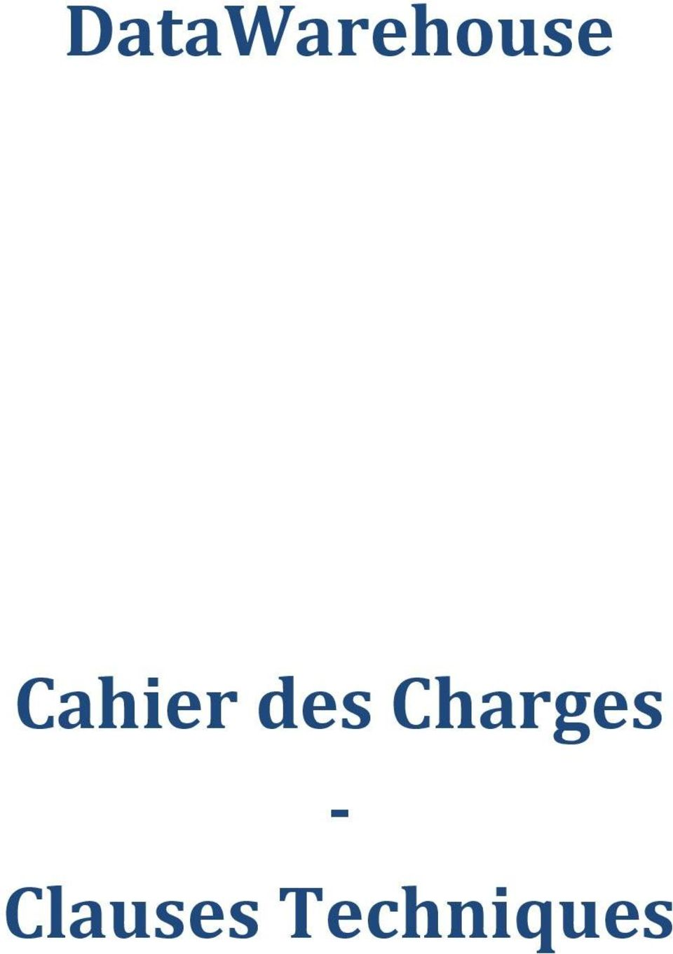 Charges -