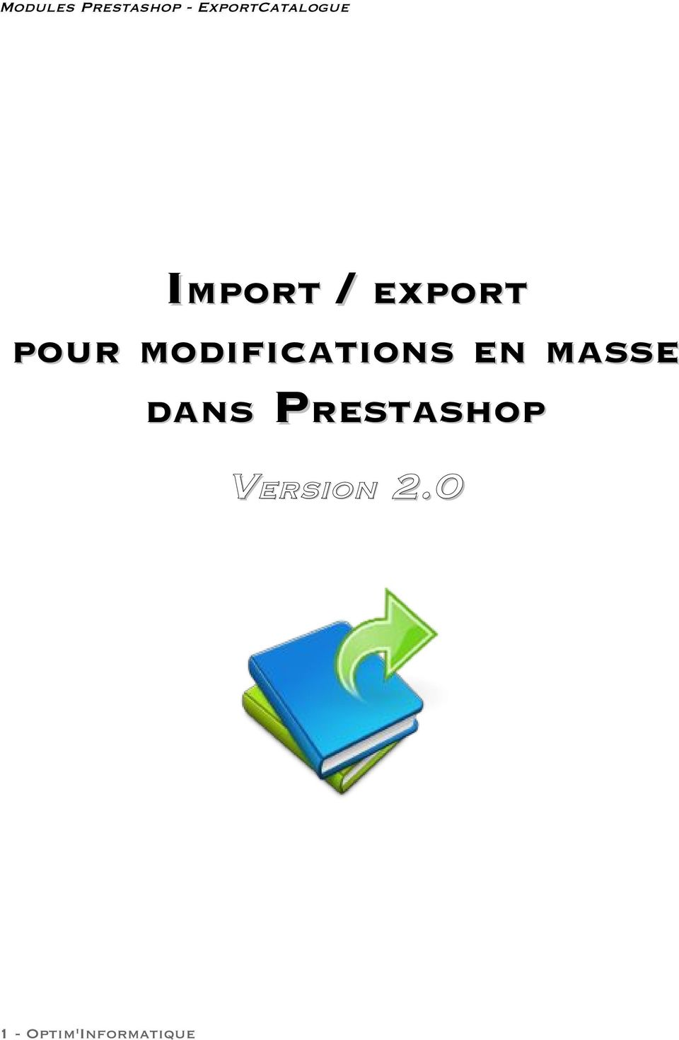 DANS PRESTASHOP VERSION