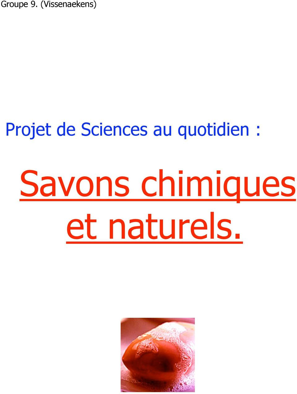de Sciences au
