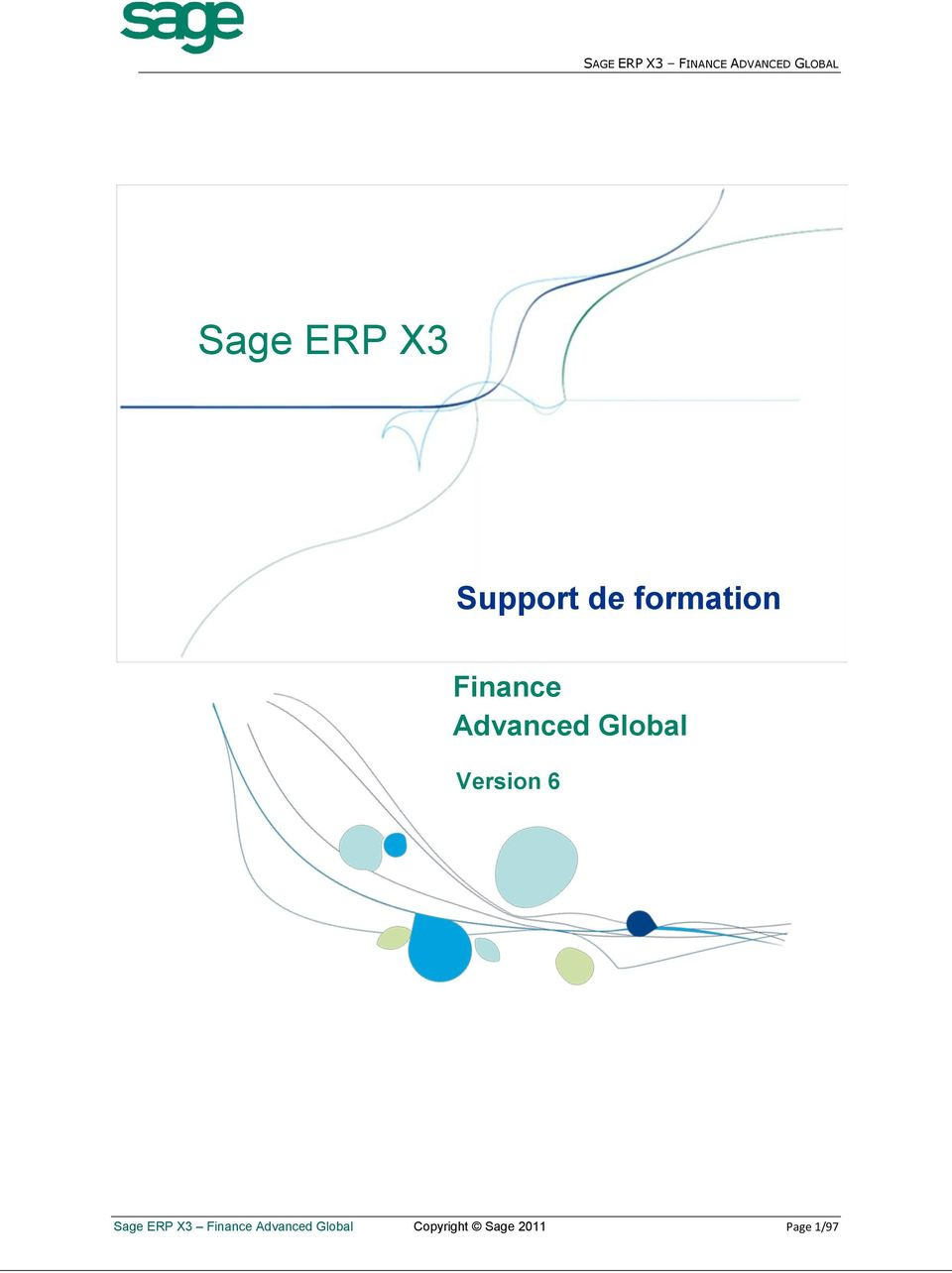 6 Sage ERP X3 Finance Advanced