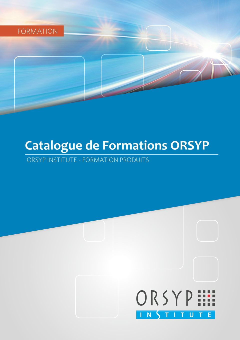 Formations ORSYP