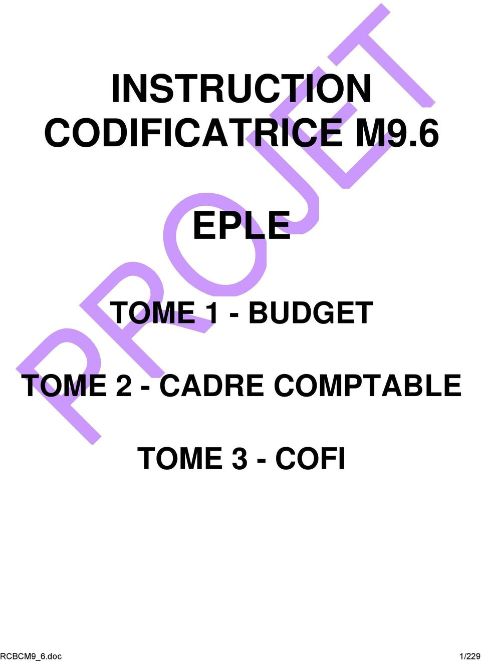 TOME 2 - CADRE COMPTABLE