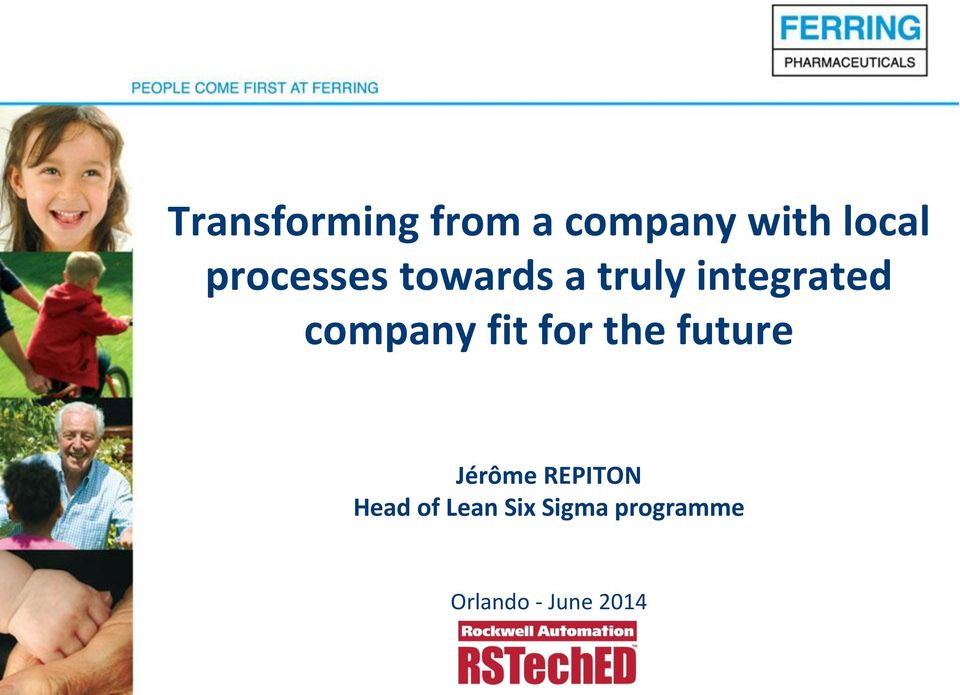 company fit for the future Jérôme REPITON