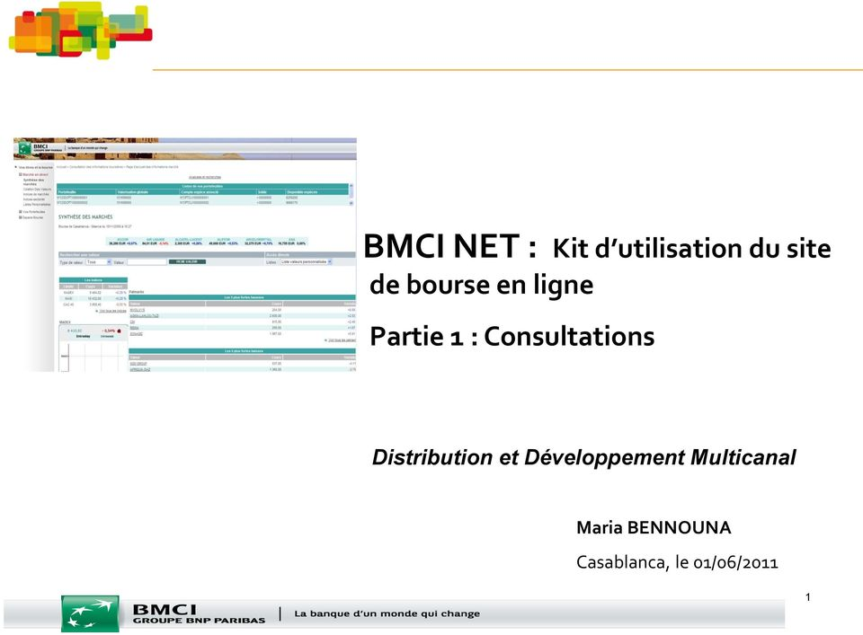 Consultations Distribution et