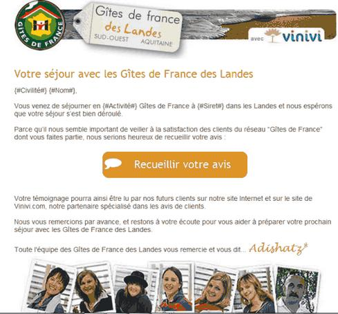 Exemple d email