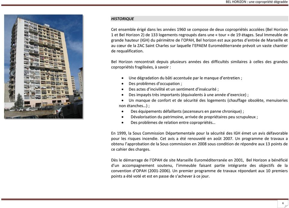 vaste chantier de requalification.