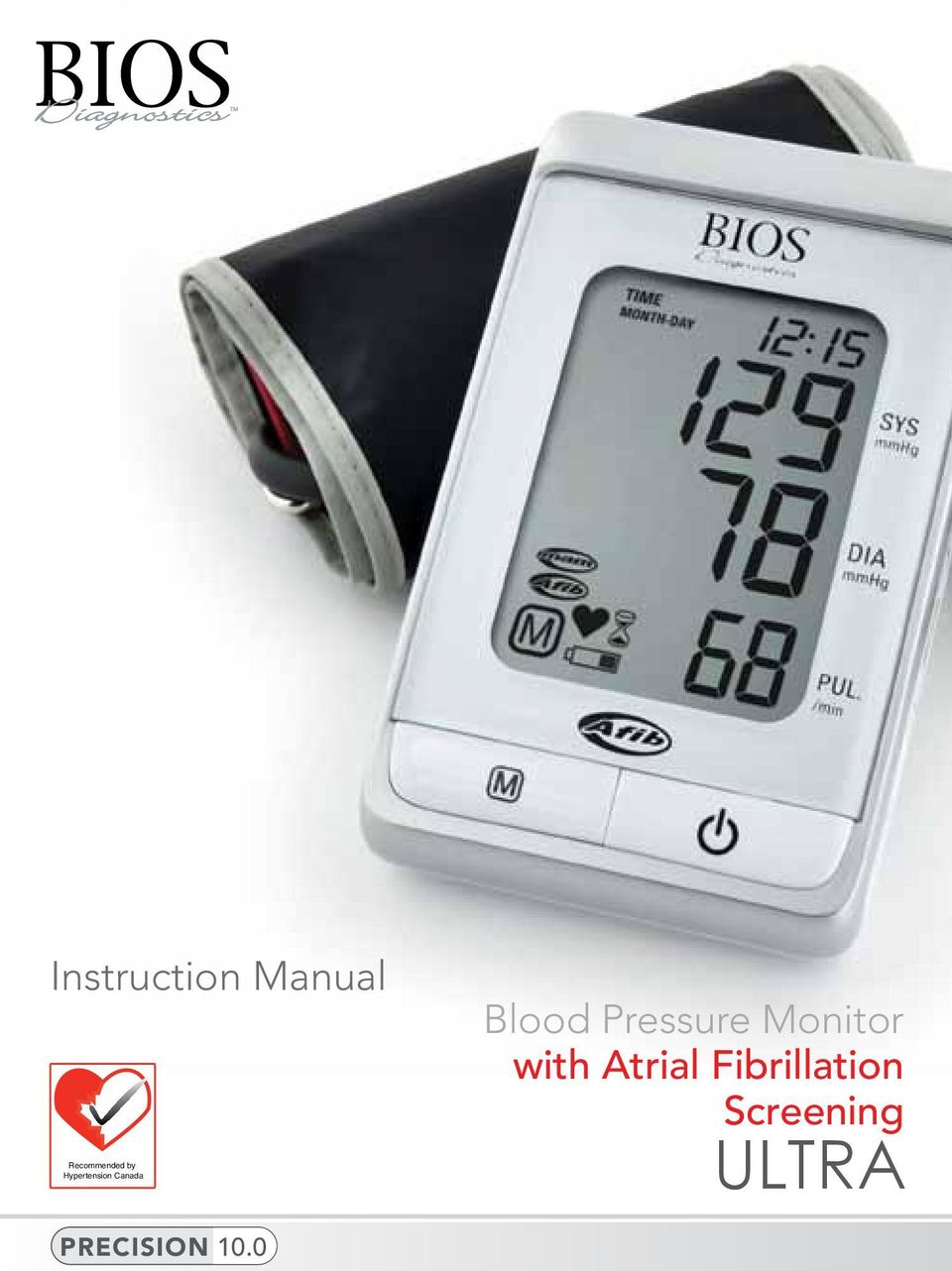 Pressure Monitor with Atrial