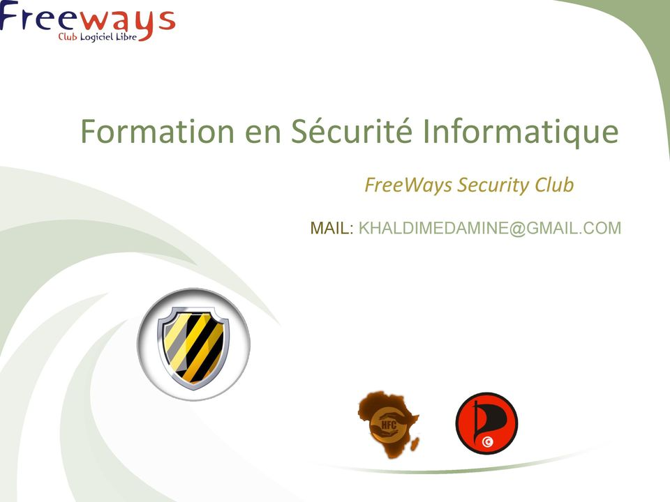 Security Club MAIL: