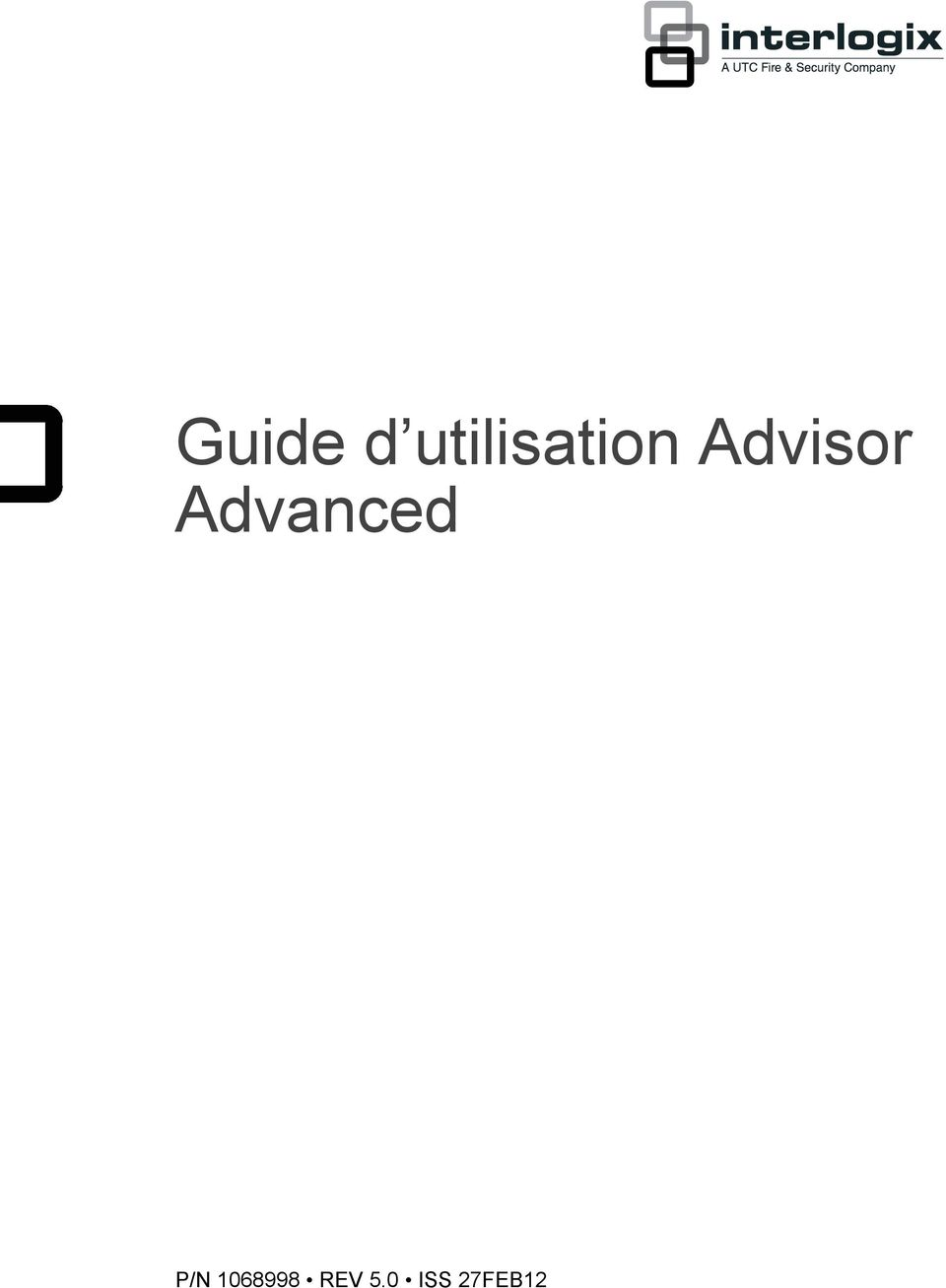 Advisor Advanced