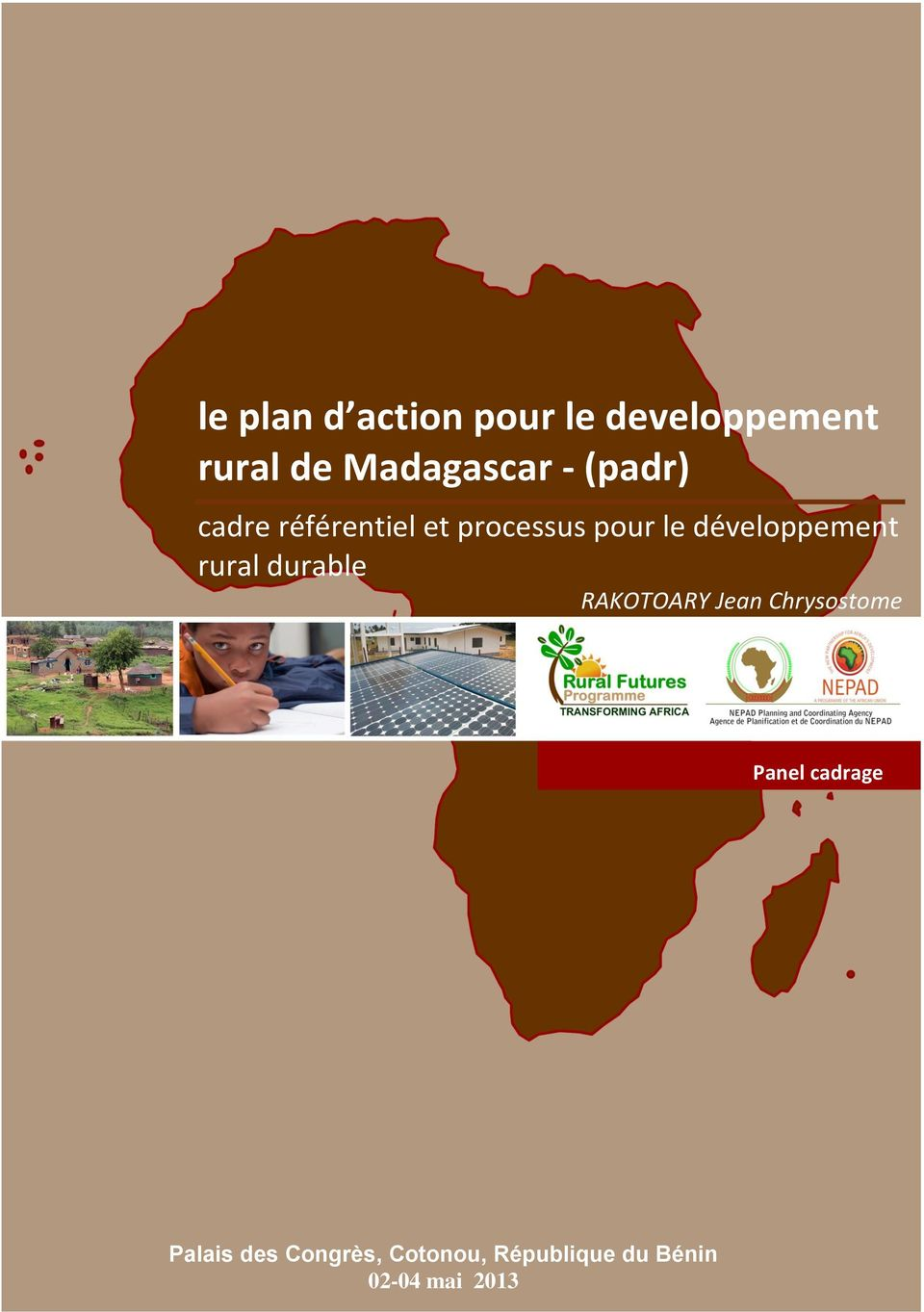développement rural durable RAKOTOARY Jean Chrysostome