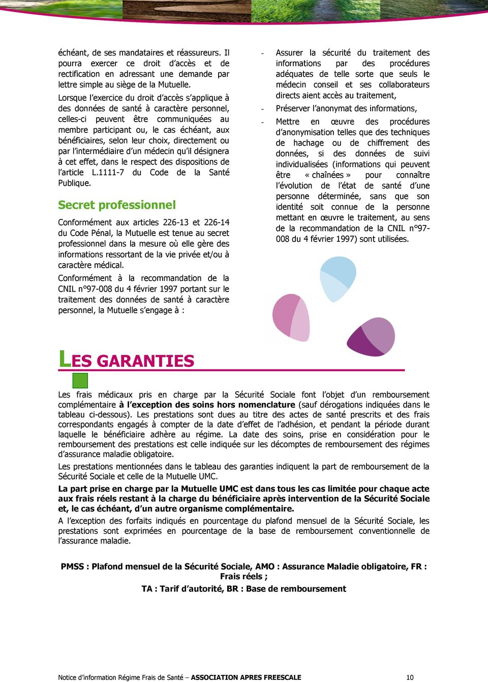 Association apres freescale pdf - Plafond remboursement securite sociale ...