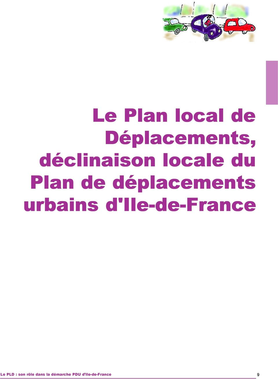 déplacements urbains d'ile-de-france