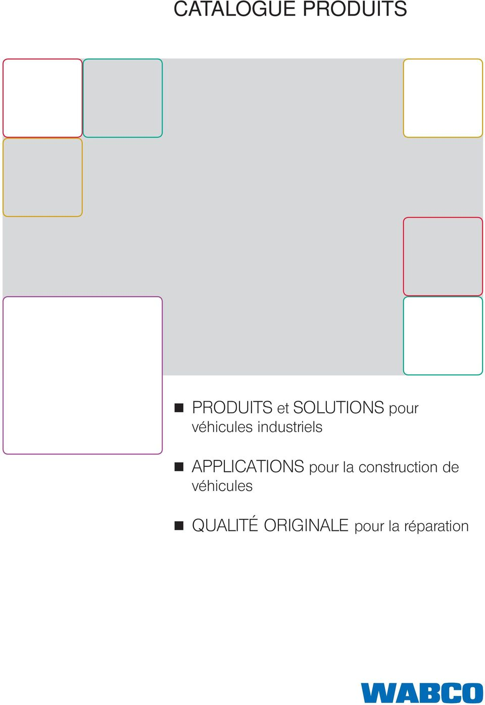 APPLICATIONS pour la construction de