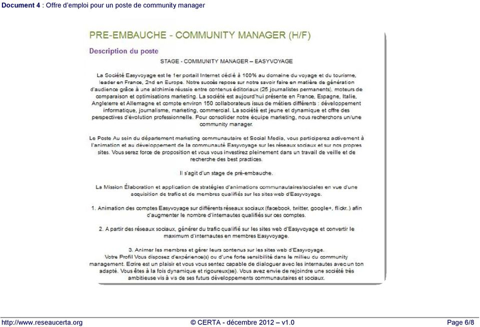 manager http://www.reseaucerta.