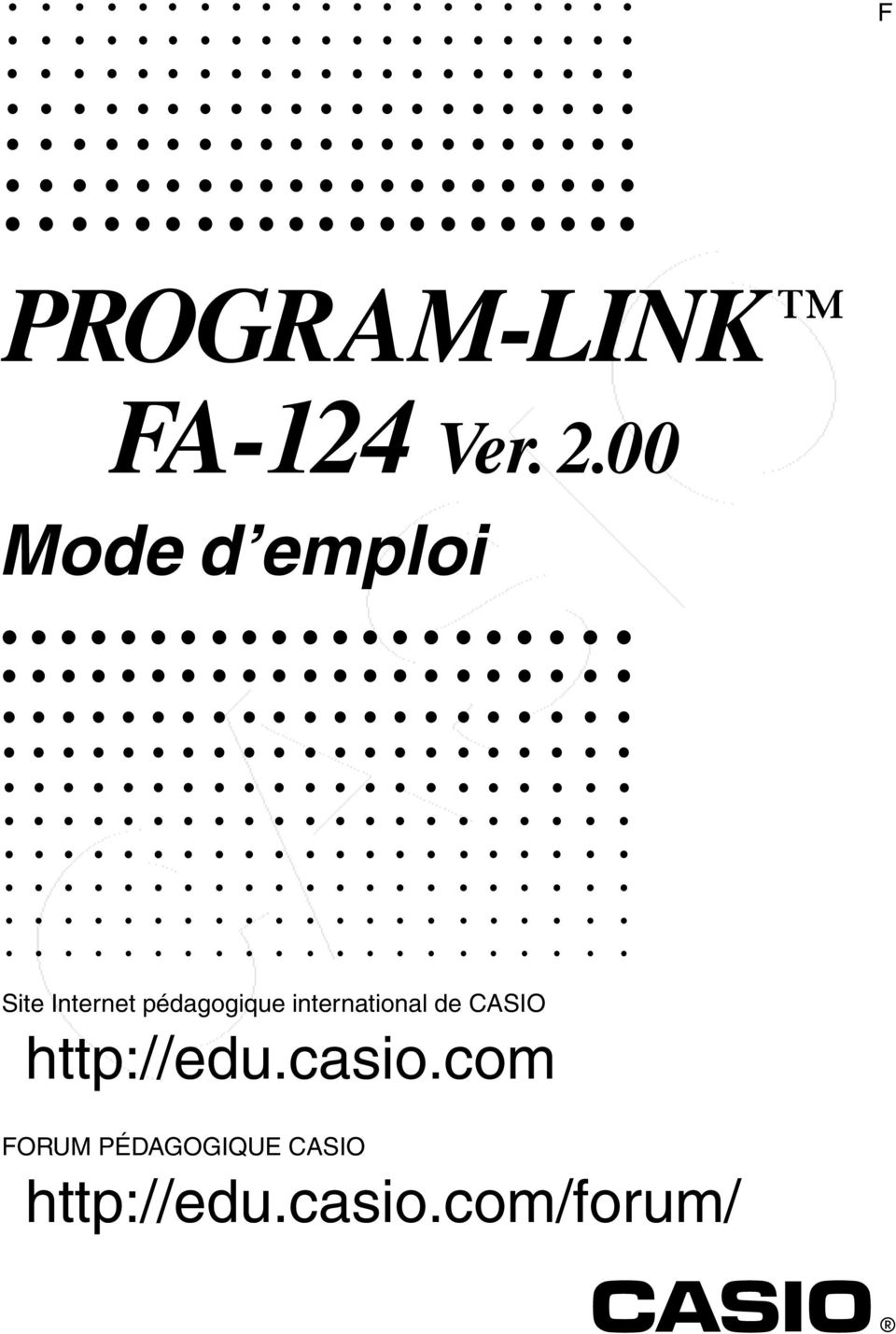 international de CASIO http://edu.casio.