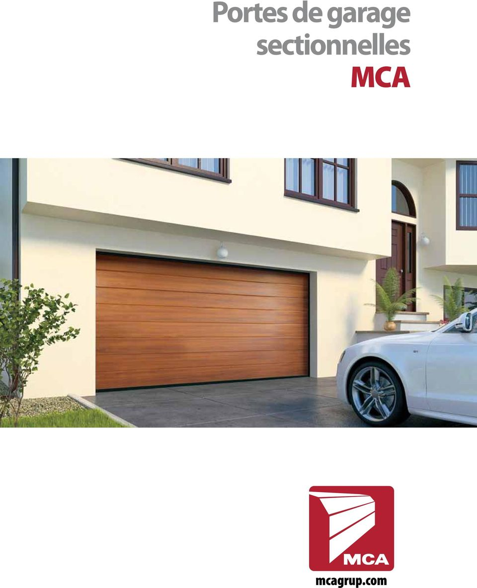 portes de garage sectionnelles mca pdf