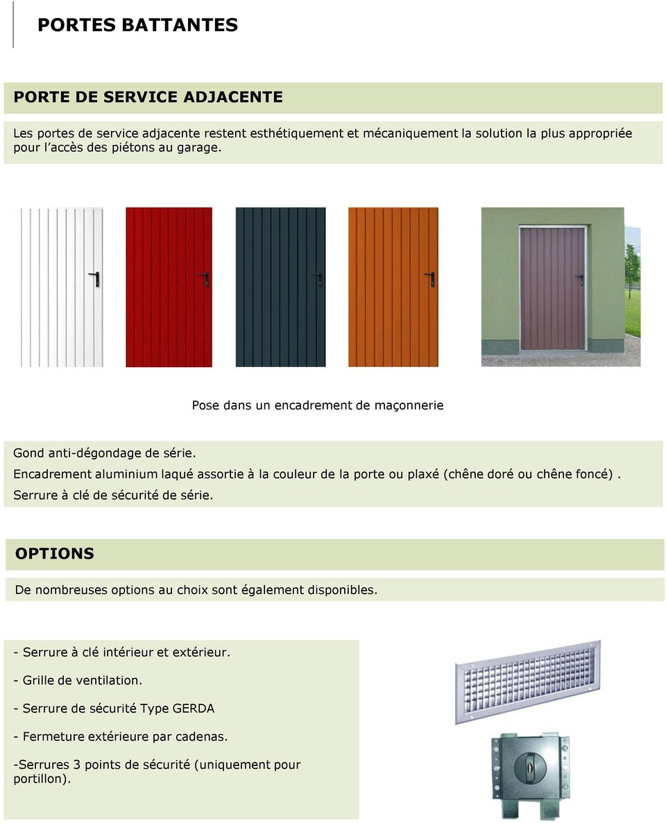 portes de garage battantes portes de garage haute qualite pdf. Black Bedroom Furniture Sets. Home Design Ideas