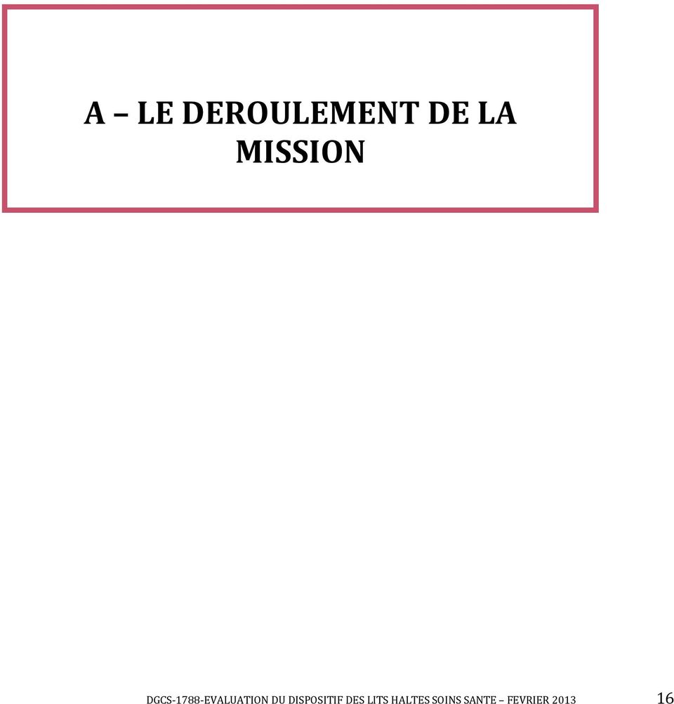 DGCS-1788-EVALUATION DU