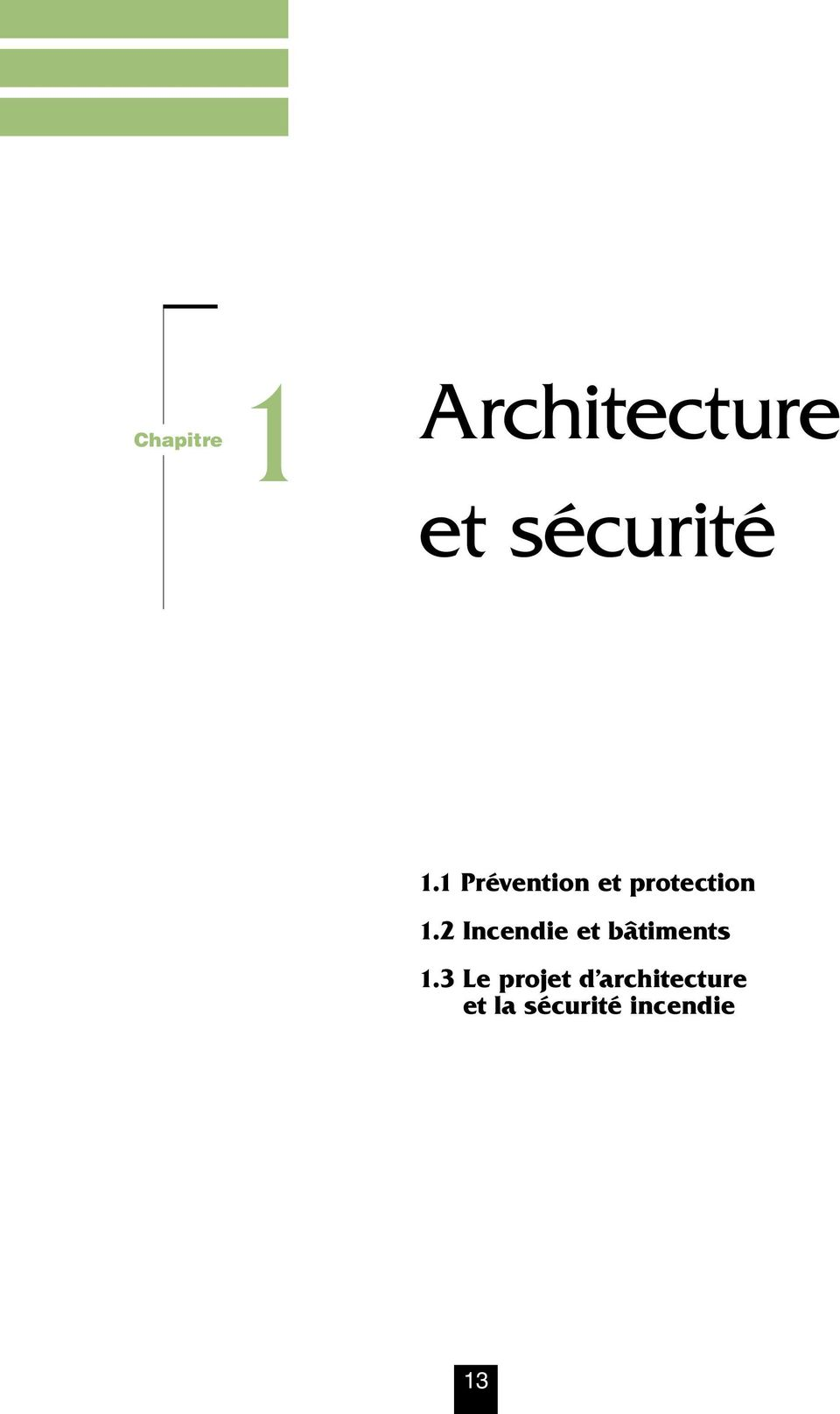 Conception architecturale et s curit incendie pdf for Architecture urbaine definition