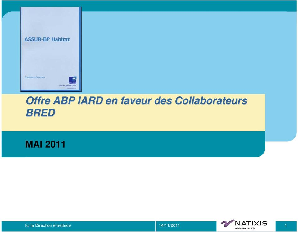 Collaborateurs BRED