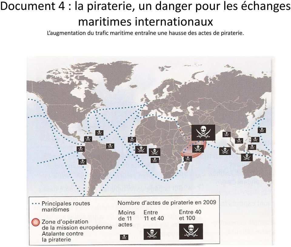 internationaux L augmentation du trafic