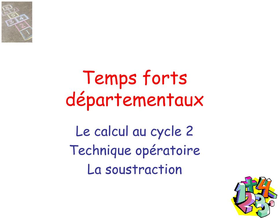 calcul au cycle 2