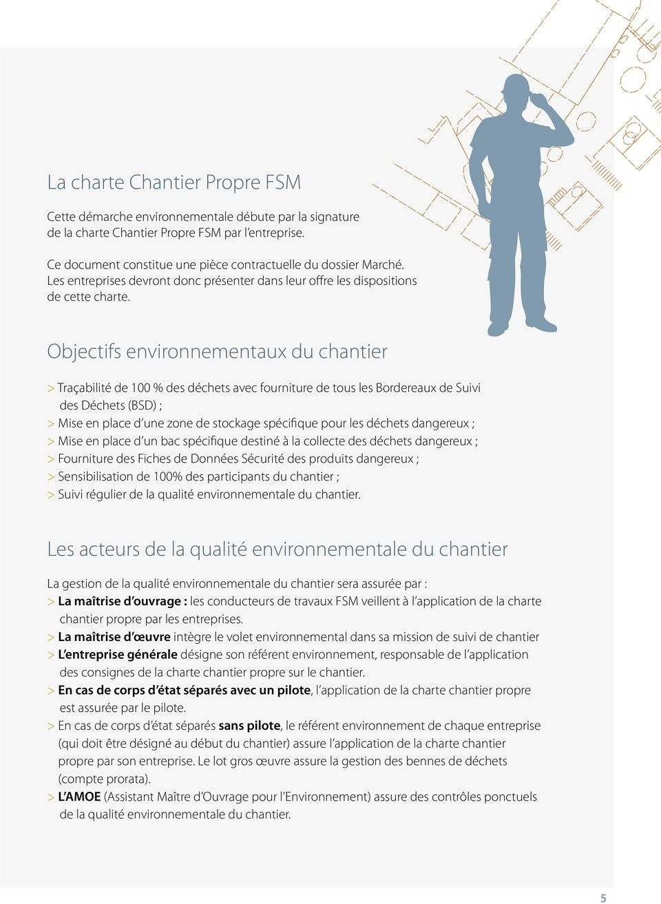 Chantier environnement guide pratique d marche iso pdf for Application suivi de chantier
