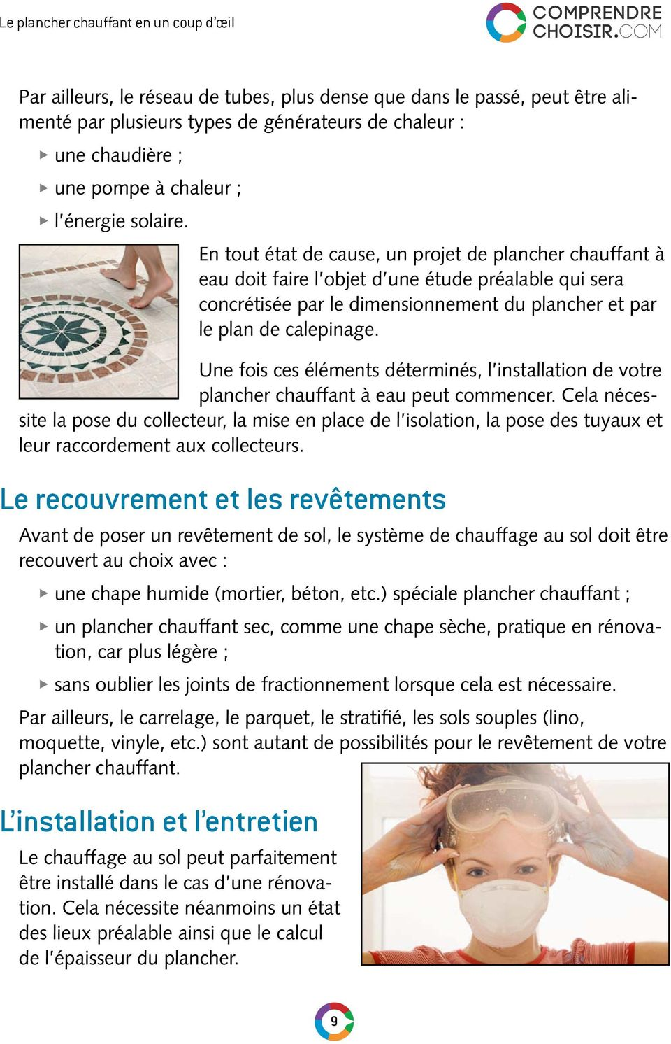 le guide du plancher chauffant ditions pdf. Black Bedroom Furniture Sets. Home Design Ideas