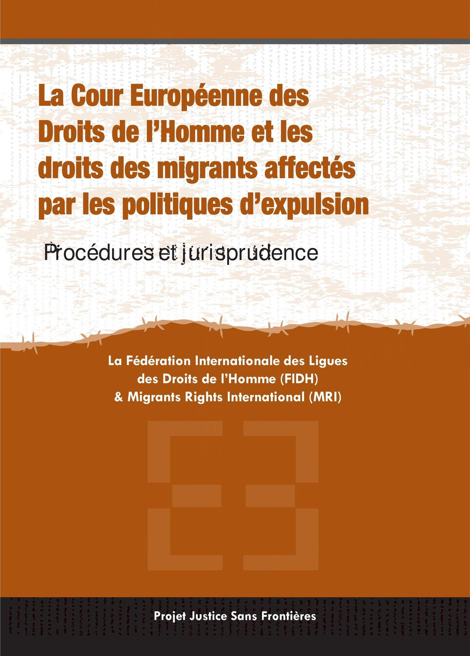 org Procédures et jurisprudence La Fédération Internationale des Ligues des Droits de l Homme (FIDH) & Migrants Rights International (MRI) Migrants Rights International (MRI) Open Society