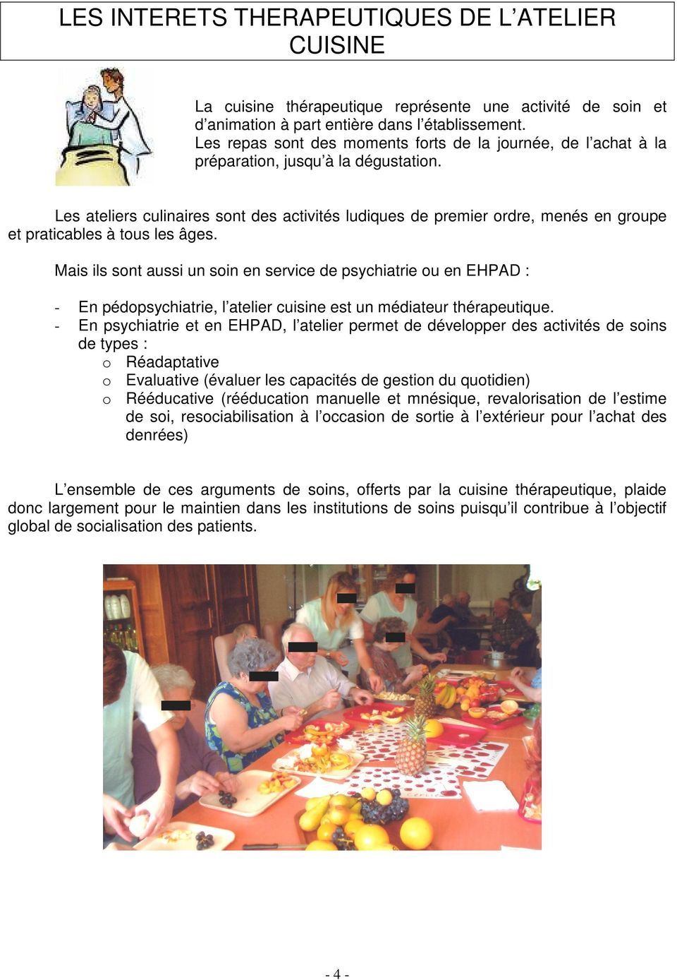 Guide des ateliers de cuisine th rapeutique pdf - Atelier cuisine therapeutique ...