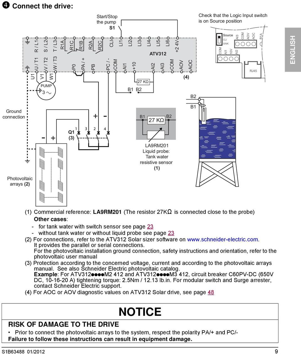 Atv312 Connection Diagram Modern Design Of Wiring Variable Frequency Drive Manual Square D Drives Altivar 312