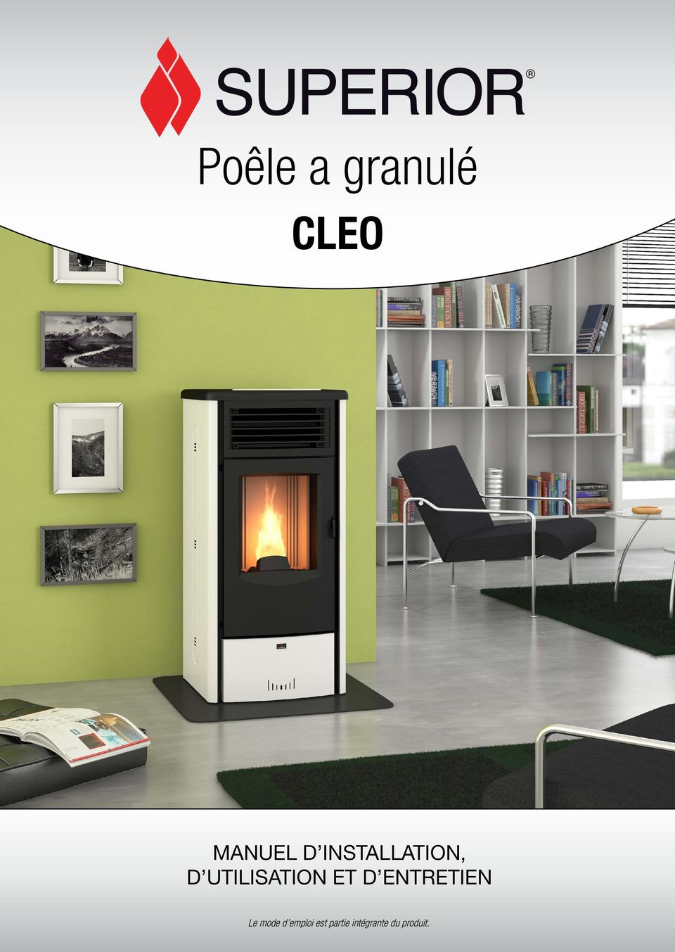 po le a granul cleo manuel d installation d utilisation. Black Bedroom Furniture Sets. Home Design Ideas